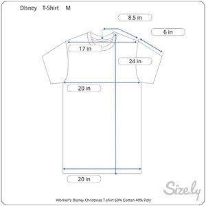 Disney Minnie Mouse Merry and Bright T-Shirt M